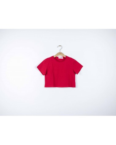 T-shirt cropped bambina - fronte